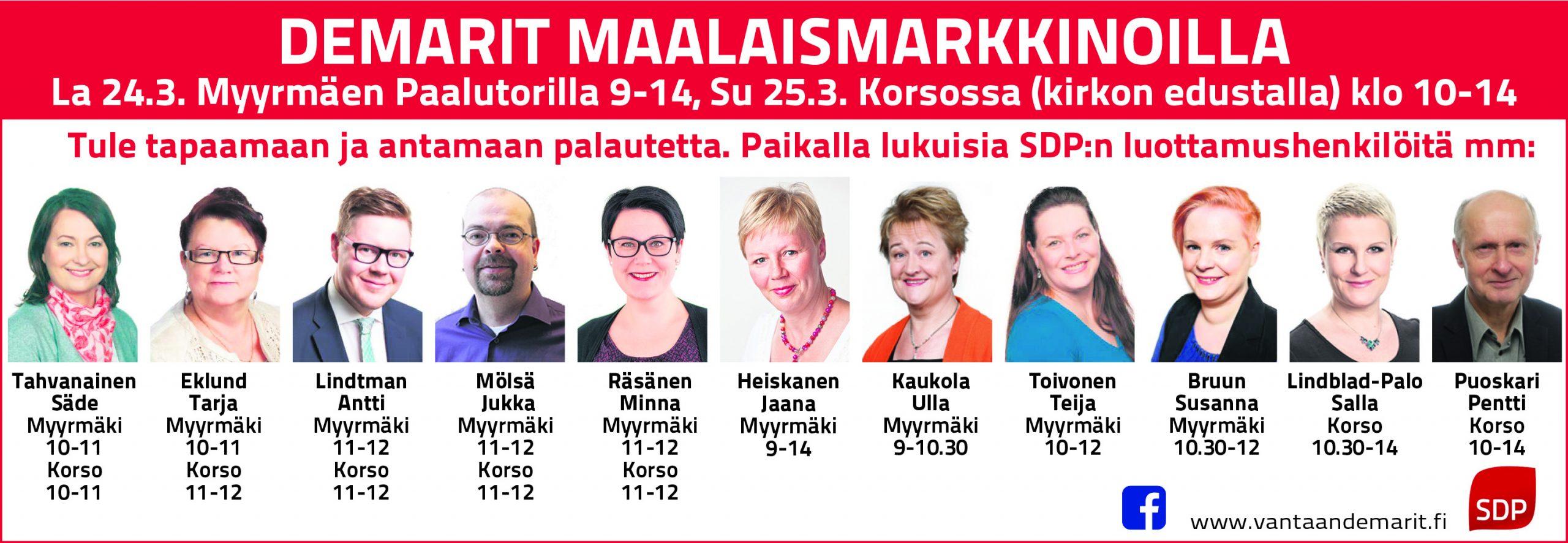 Eduskuntavaaliehdokkaat 2021 Pirkanmaa
