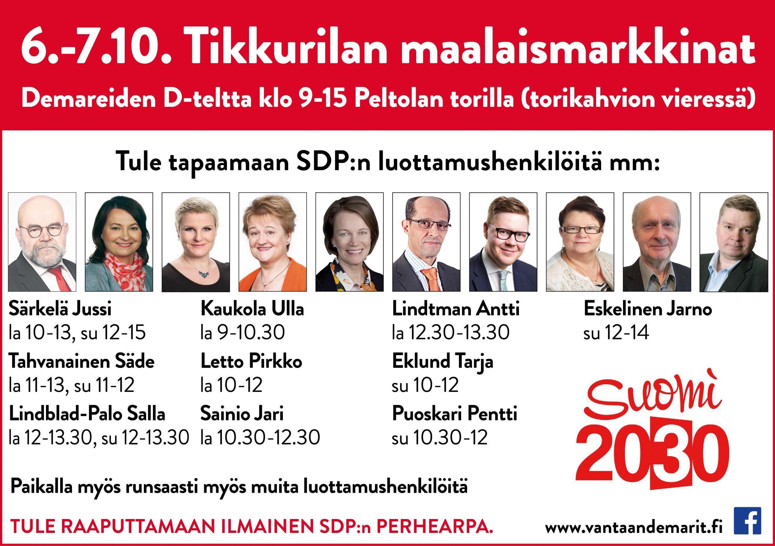 Eduskuntavaaliehdokkaat 2021 Satakunta