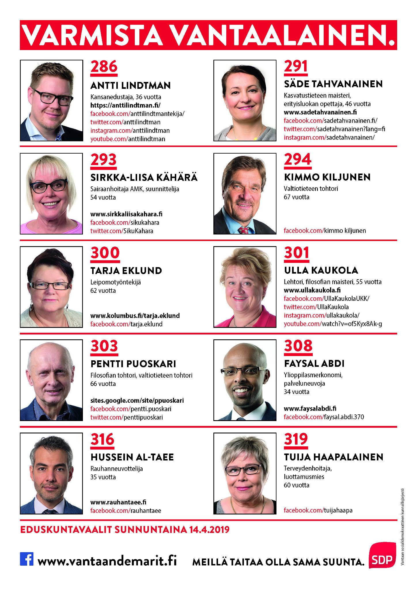 Eduskuntavaalit 2021 Tulospalvelu