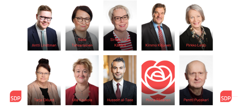 Eduskuntavaalit 2021 Ehdokkaat